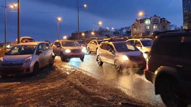 Все праздники возможны пробки надорогах вРостове