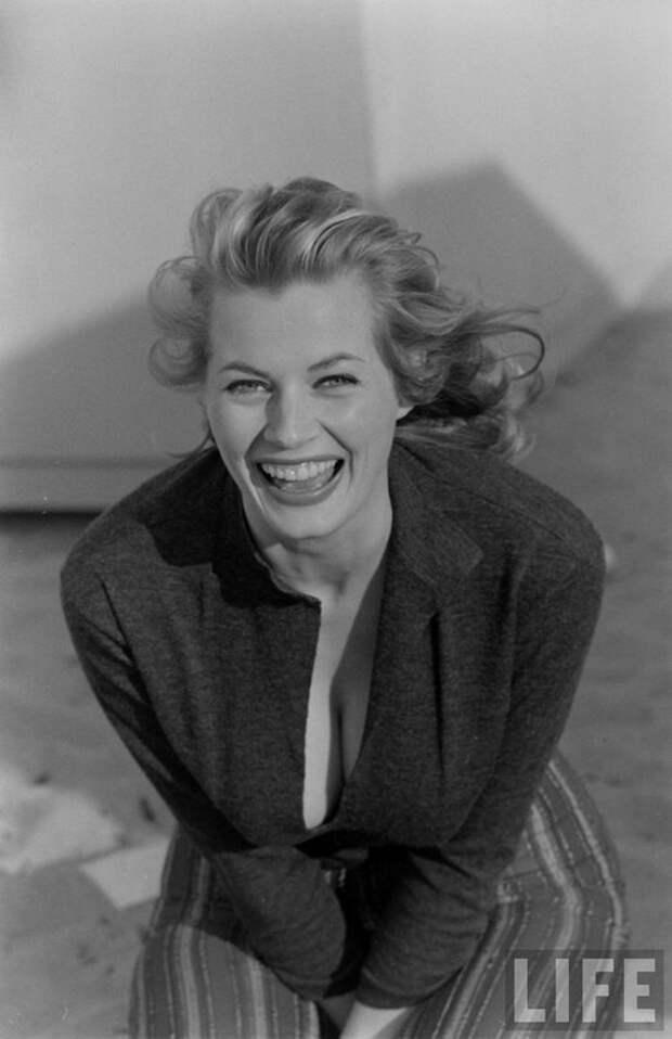 Анита Экберг, 1951 год.