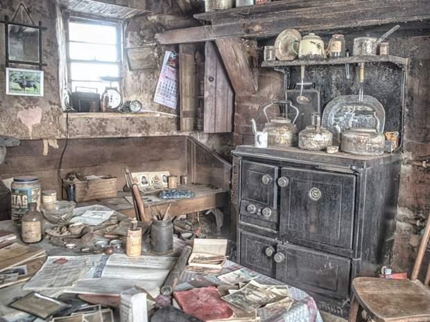 Как выглядит фермерский дом в Ирландии, который сохранил обстановку вековой давности