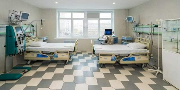 Инфекционную больницу в ТиНАО оперативно подсоединят к коммуникациям. Фото: mos.ru