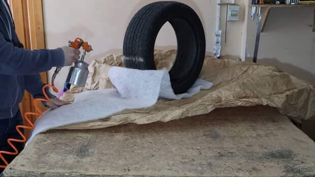 Вот как надо переделывать шины! Умная идея для дачи