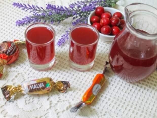 Спиртные напитки. Наливка из вишни