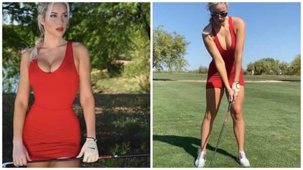 Красавица-гольфистка Пейдж Спиринак: 20 эффектных фото
