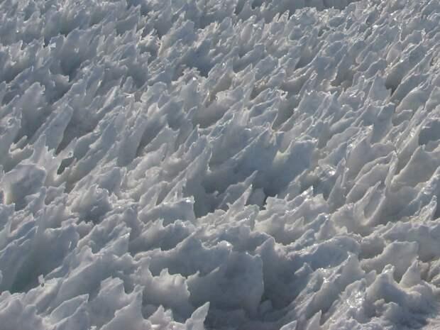 5 завораживающих фото кальгаспор — огромных ледяных игл