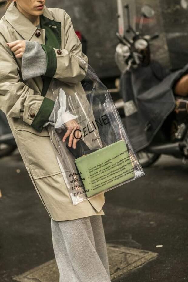 Подборка прозрачных сумок