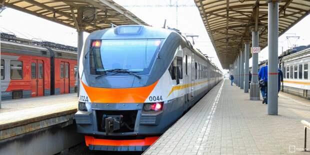 Расписание электричек от станции Ростокино изменится в майские праздники