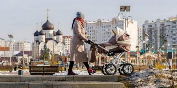 Собянин упростил порядок получения социальных выплат семьями с детьми. Фото: Е. Самарин mos.ru