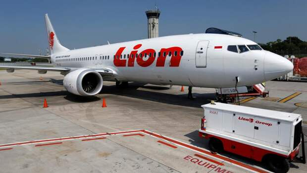 СамолетBoeing 737 Max 8 авиакомпанииLion Air