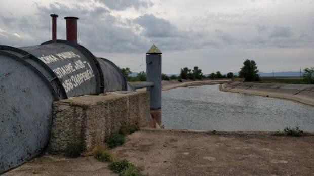 Северо-Крымский канал остается перекрытым