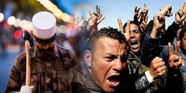 Генералы Франции предрекают гражданскую войну