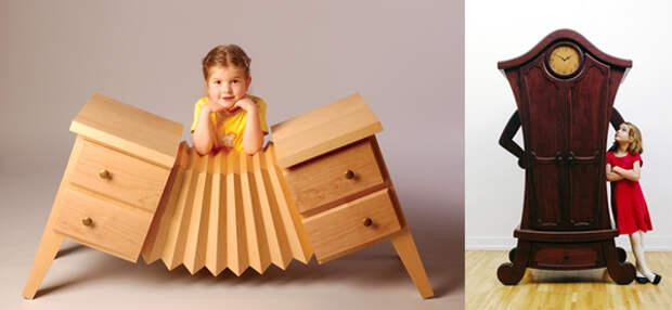 Самая смешная и необычная мебель в мире. ФОТО