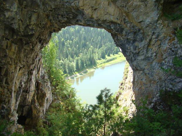 Золотые (Царские) Ворота Урала - таинственный портал