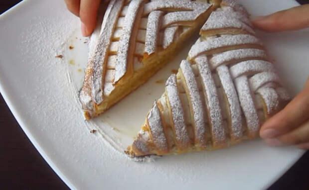 Пирог, который покорит гостей! То, что нужно к чаю!