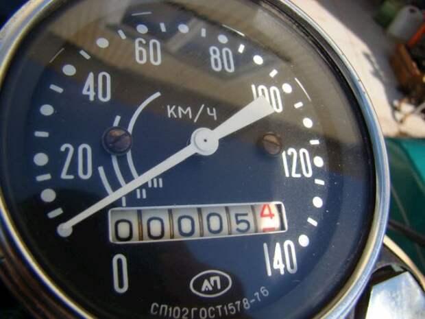 Мотоцикл «Урал» М-67-36 1981 года с пробегом 5 км