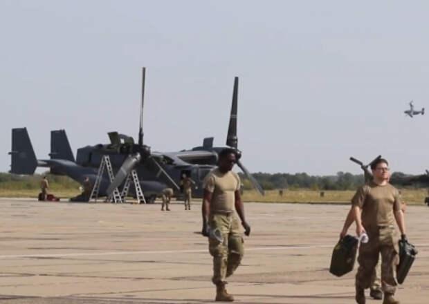 Под Винницей на военном аэродроме развернулось подразделение американской авиации