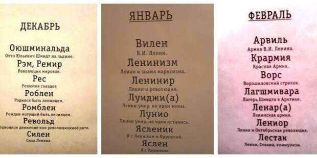 Самые необычные имена, которые давали советским детям