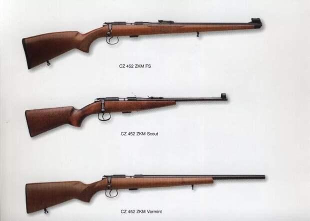 Чешская винтовка CZ-452 .22LR – альтернатива отечественным «мелкашкам»