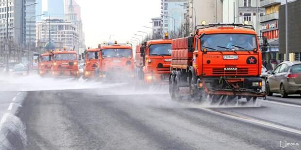 В Куркине промывку дорог отложили из-за пробок
