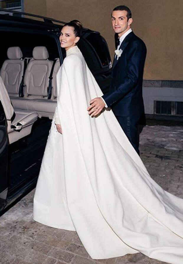 Даша Жукова и Ставрос Ниархас свадьба