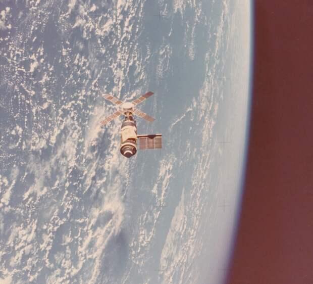 1973. Орбитальная станция Скайлэб (англ. Skylab). Апрель