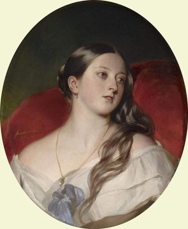 Королева Виктория. 1843 год