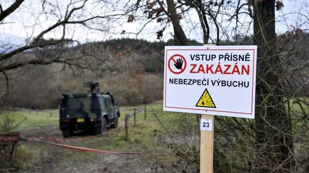 Чехия готовит иск о компенсации ущерба от взрывов в Врбетице