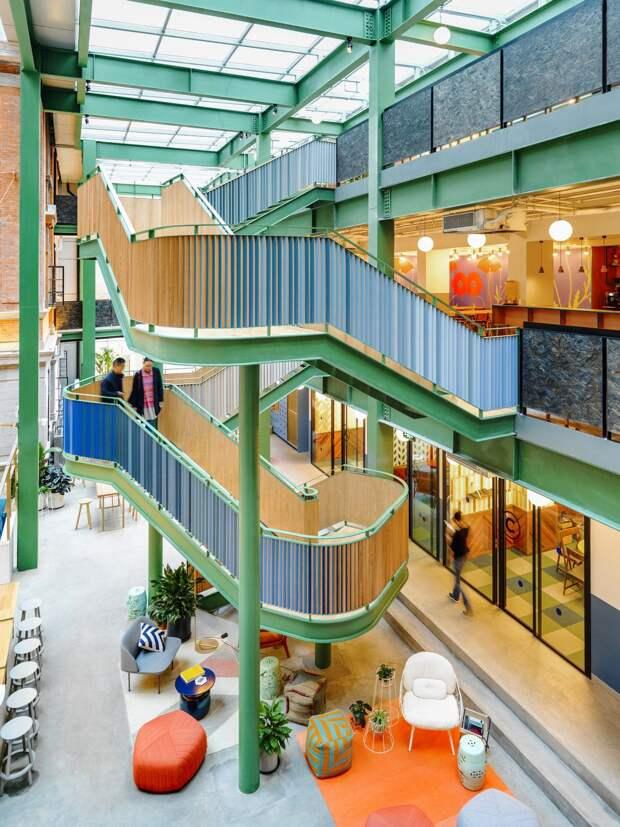 Инновационный коворкинг-центр в Шанхае