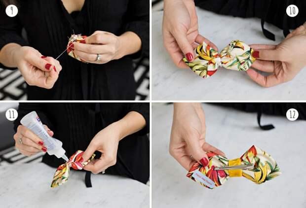 Как сделать галстук  бантик своими руками