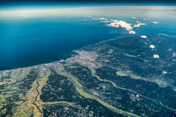 Хоккайдо с воздуха