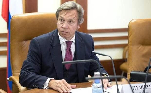 Пушков оценил заявление Белого дома о «толстокожести» США на слова Путина о «Шерхане» и «Табаки»