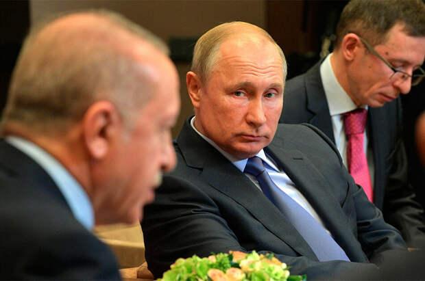 О чем Путин с Эрдоганом говорили семь часов