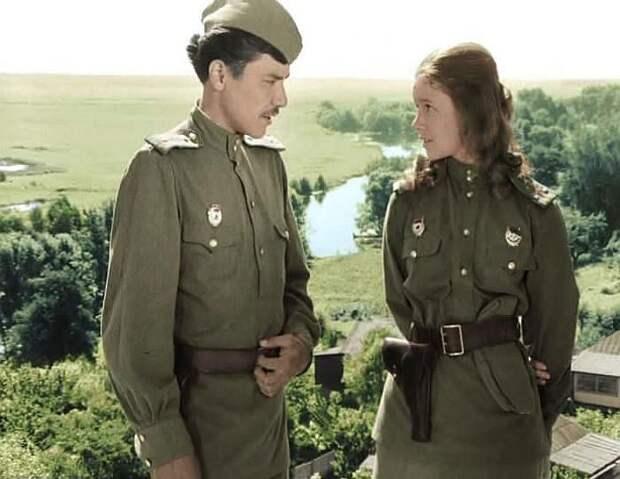 Рустам Сагдуллаев. Кадр из фильма «В бой идут одни «старики», 1974 г.
