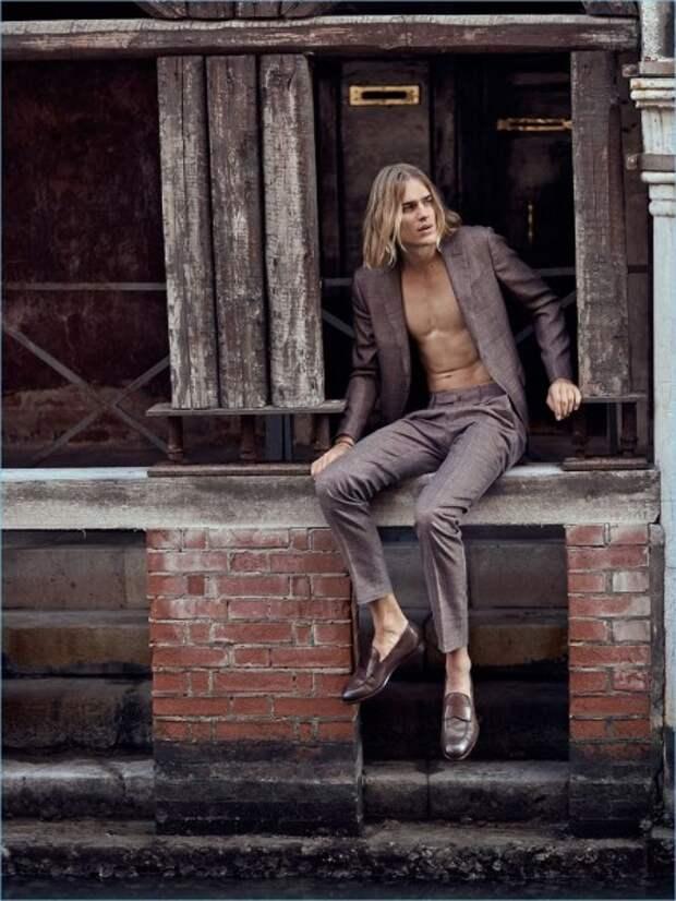 Тон Хеукелс - восходящая звезда модельного бизнеса