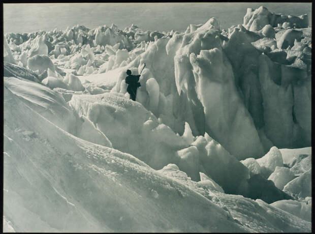 Первая Австралийская антарктическая экспедиция в фотографиях Фрэнка Хёрли 1911-1914 11