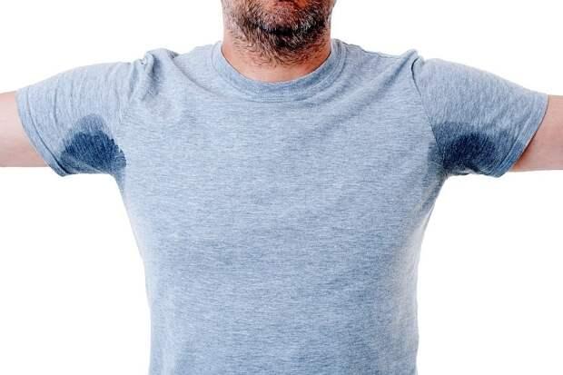 Как избежать появления мокрых пятен в области подмышек на одежде: простые способы