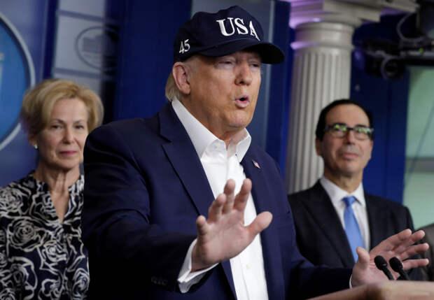 Трамп ожидает результатов теста на коронавирус