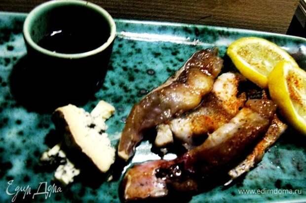 Приятного аппетита) Вкусно и в суши, и так, и на камне поджарить можно! Приятного всем. Подавать лучше с имбирем и соевым соусом, предварительно сбрызнув лимоном.