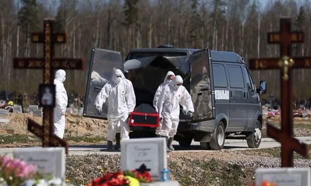 В России за сутки от коронавируса скончались 77 человек