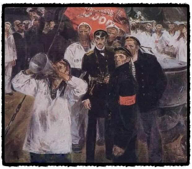 """Художник В.Ф. Жмерикин, """"Лейтенант Шмидт"""". 1972"""