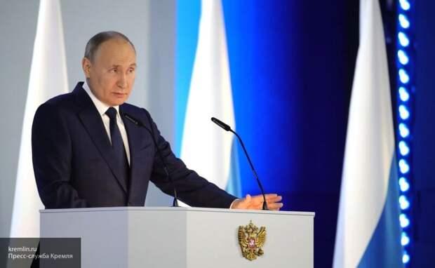 Американцы восхитились силой и патриотизмом Путина после послания к парламенту