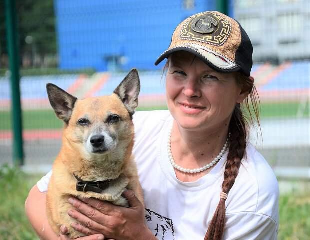 Встреча с Ольгой изменила жизнь донецкой дворняжки. Фото: Татьяна Орлова