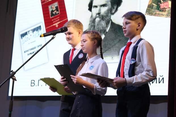Школьники из Глазова представили городские социальные проекты