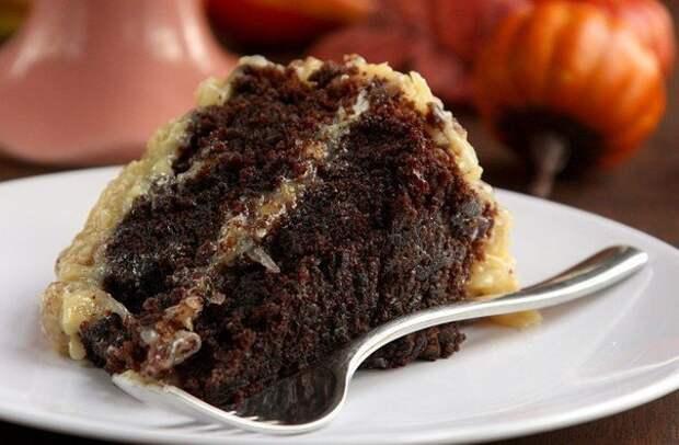 Немецкий шоколадный торт - король праздничного стола!