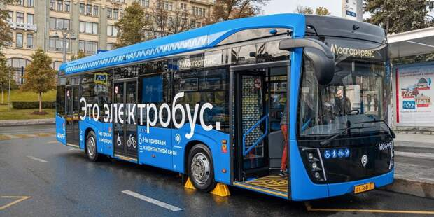 Проходящий через Лосинку электробус 393 изменил маршрут следования
