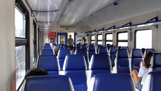 В Подмосковье на 85% сократились железнодорожные перевозки