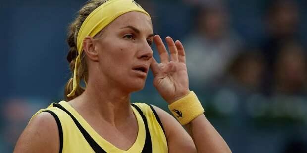 Теннисистка Кузнецова снялась с турнира