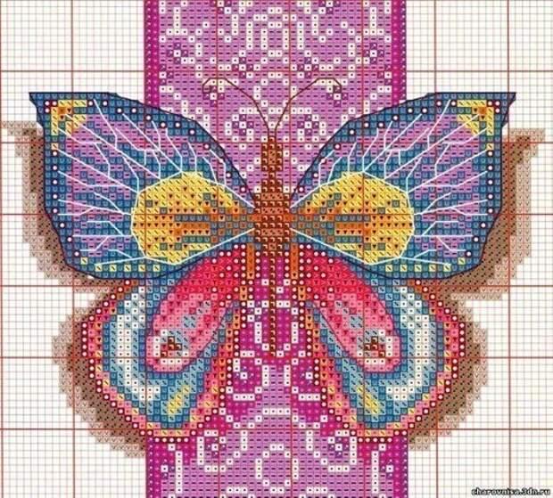 ВЫШИВАЙКА. Бабочки