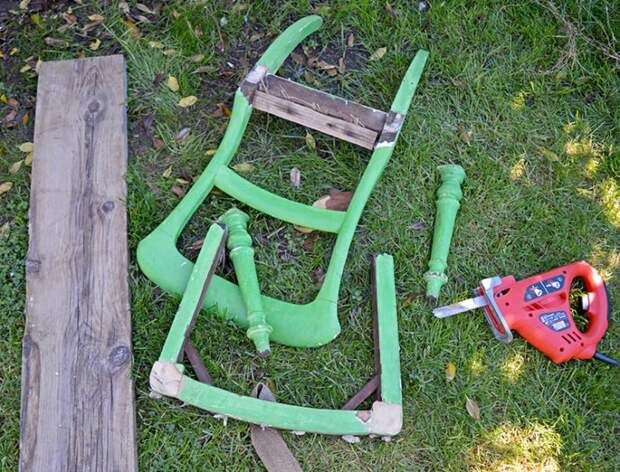 Изящное перерождение стула (Diy)