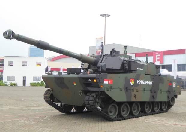 танк harimau, indo defense 2018, сухопутная техника