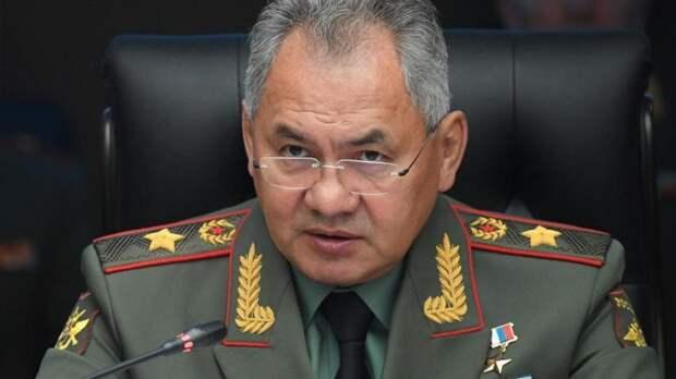 Шойгу заявил о неспокойной обстановке на границе Союзного государства с НАТО